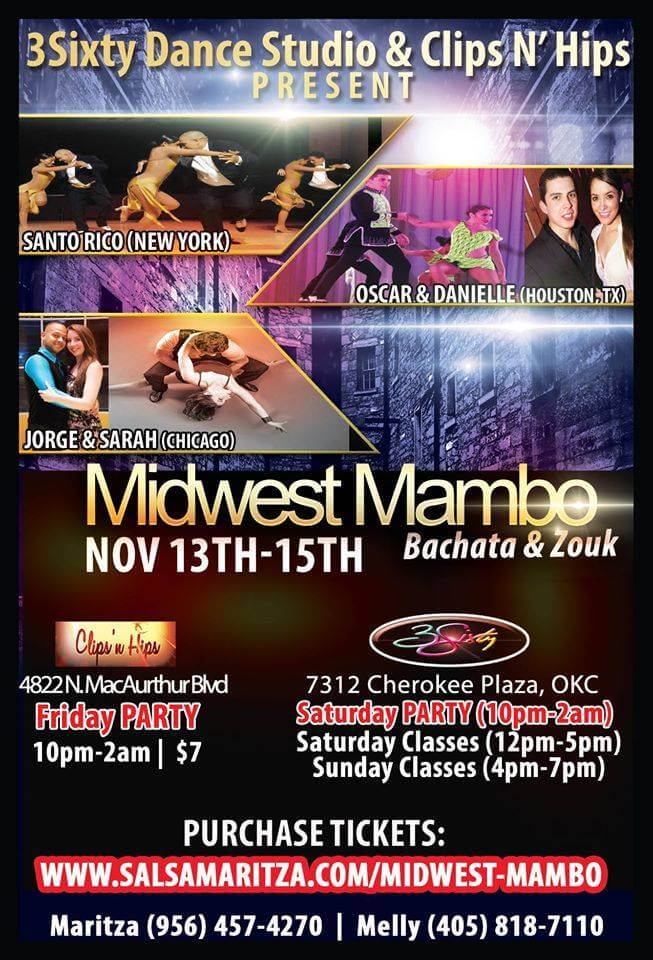 Midwest Mambo Event