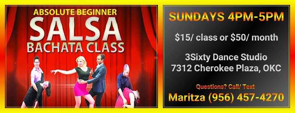 Absolute Beginner Salsa Bachata Class