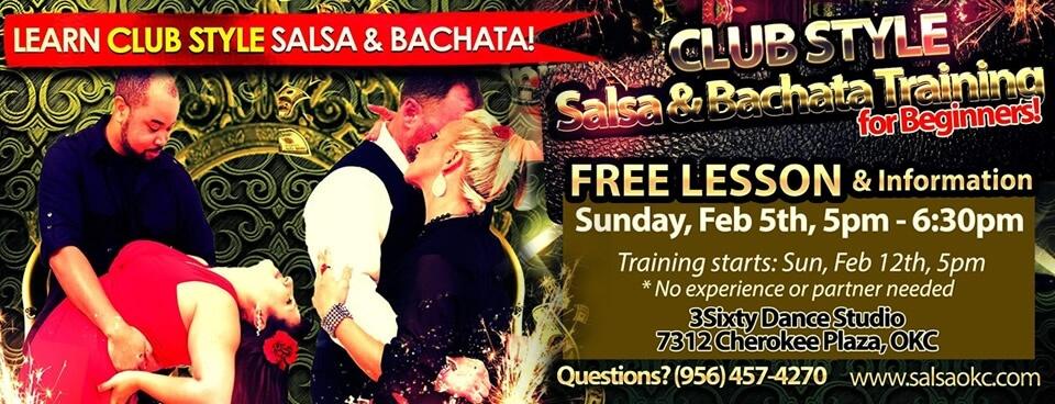 Learn Club Style Salsa & Bachata